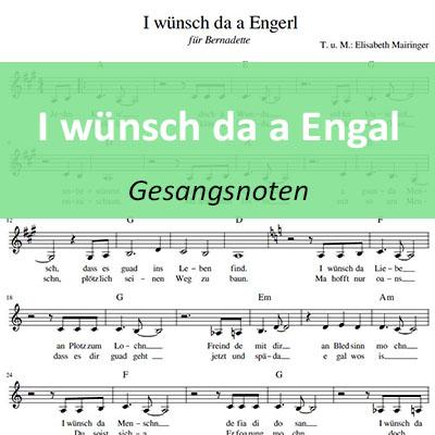 I wünsch da a Engal Noten musikundfilm.com